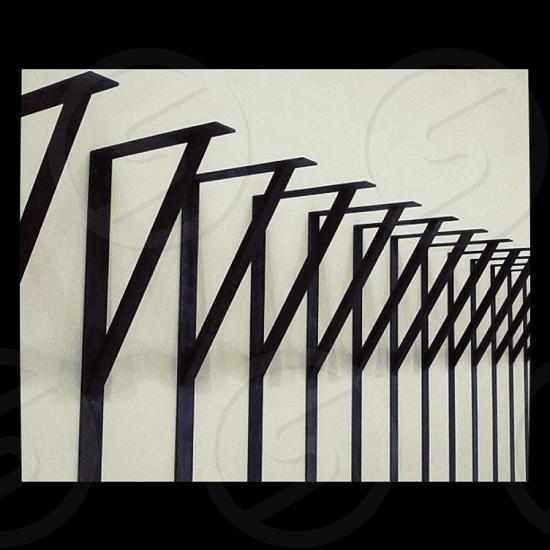 Madrid Art Exhibition Palacio Velazquez Perspective Black & White photo