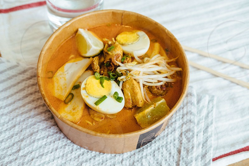 Kari Chicken Noodle Soup photo