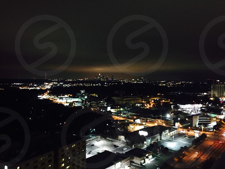 View from a condo over downtown Atlanta  photo