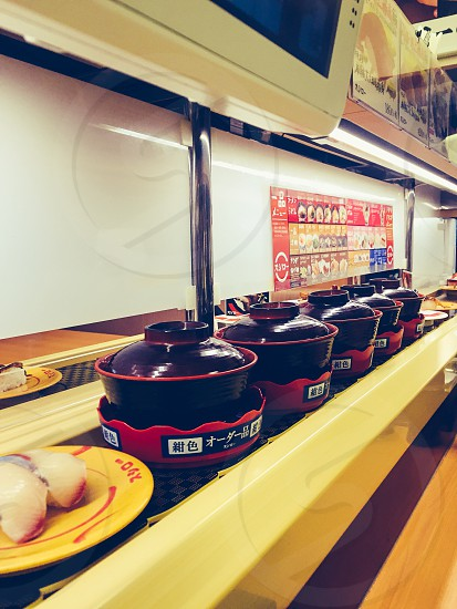 Sushimiso soup Japanese food fresh eateries  photo
