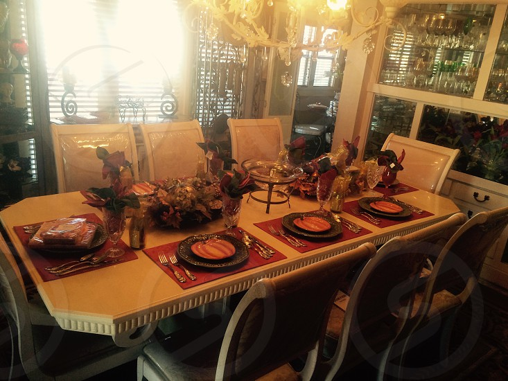 Thanksgiving Table...  photo