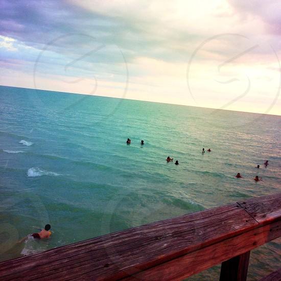 Pier view photo