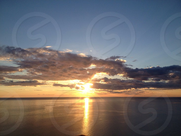 Lake Michigan Sunset photo