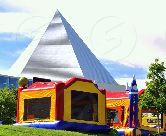 pyramid playground photo