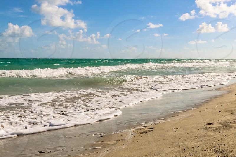 Surf on the Atlantic coast Cuba Varadero photo