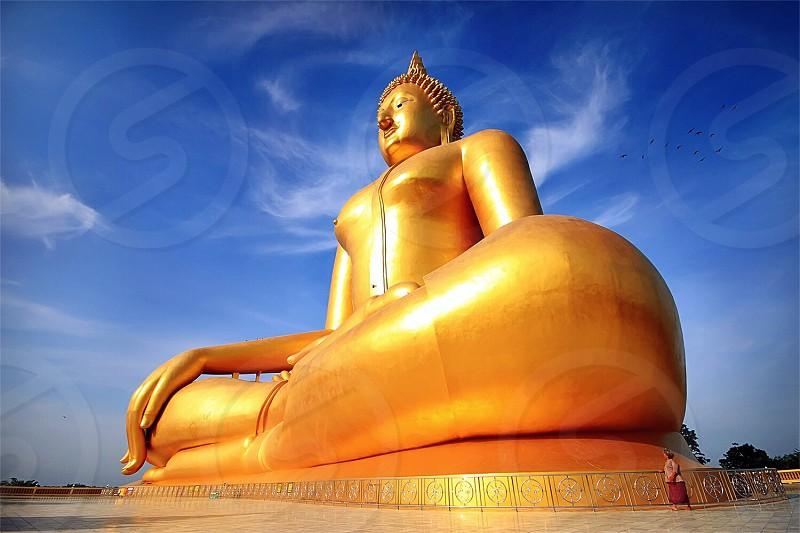 Big Buddha image photo