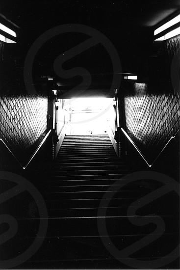 black stairs photo