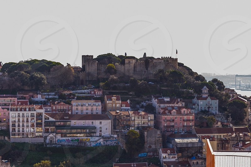Sao Jorge Castle in Lisbon photo