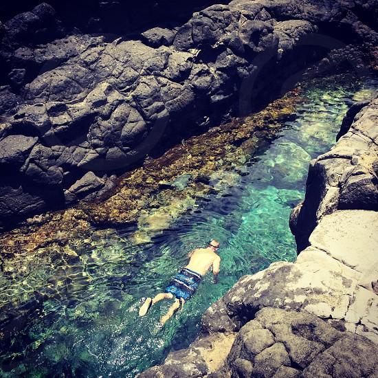 Lagoon snorkelling photo