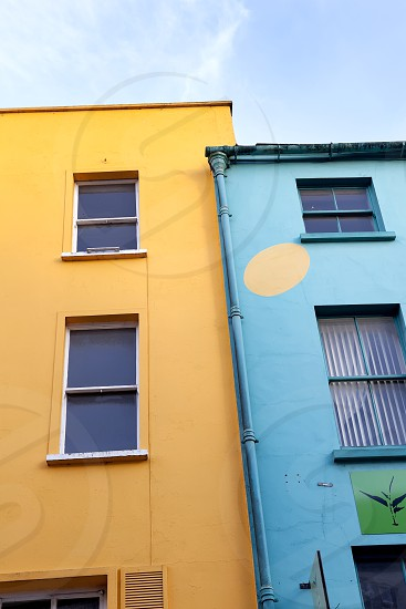 Urban Adventure - colorful buildings photo
