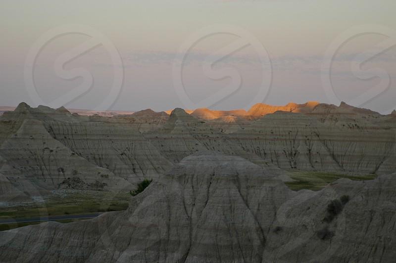 Badlands. South Dakota. photo