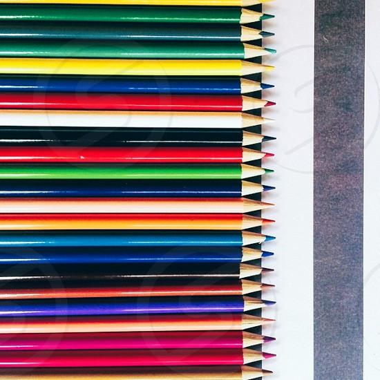 Colored Pencils: A Line Up photo