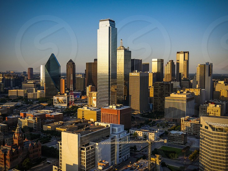 Dallas; Texas; reunion tower; travel; city; landscape  photo