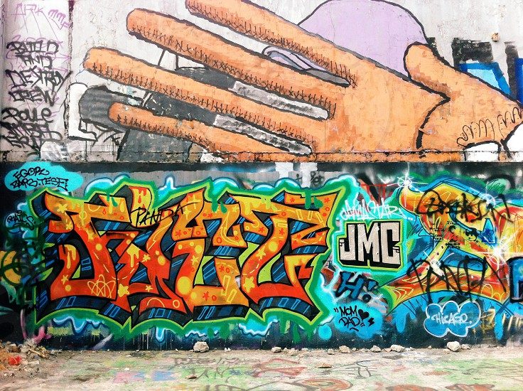 JMC painted wall  photo