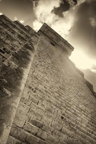 Mayan ruins at Chichen Itza near Playa del Carmen photo