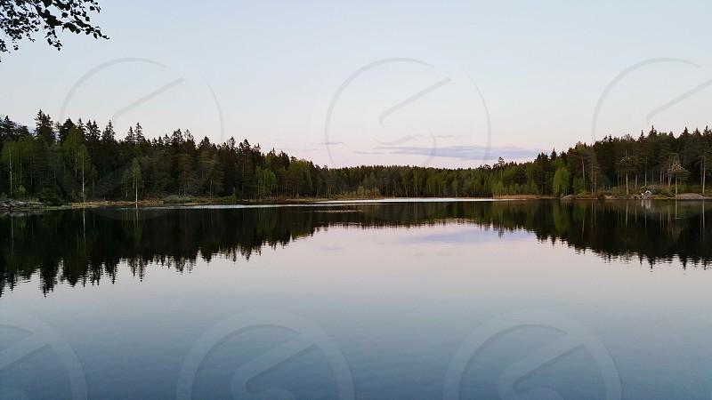 natural and beatiful lake photo