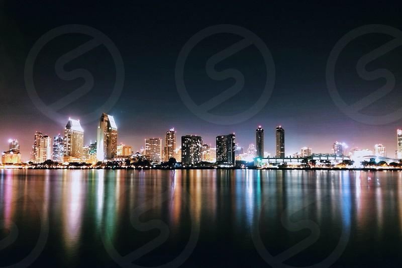 city lake view  photo