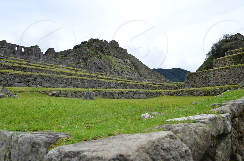 Incan capitol Machu Picchu Peru photo