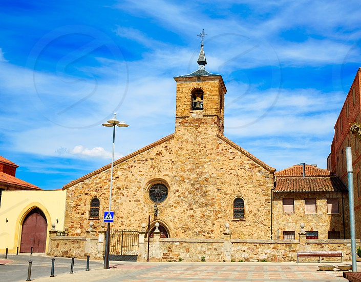 San Bartolome church in Astorga Leon by Saint James Way photo
