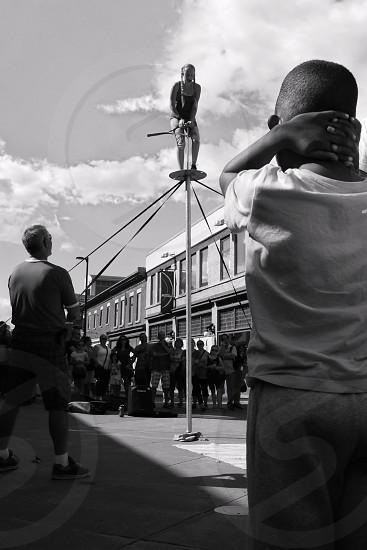 Children streets celebration Canada performance art hopes dreams real impression  photo