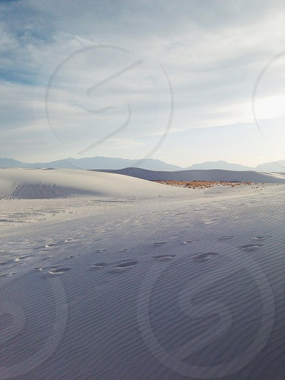 White sands national park photo