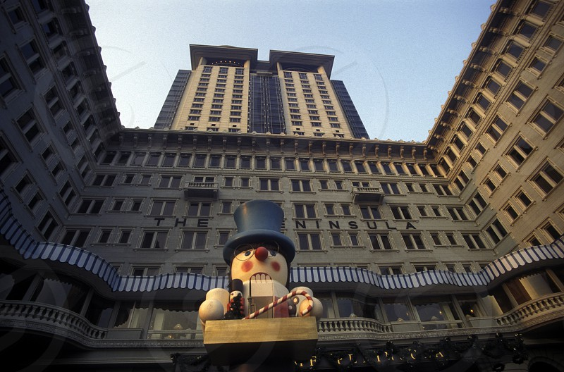 the hotel Peninsula in Kowloon of Hong Kong in the south of China in Asia. photo