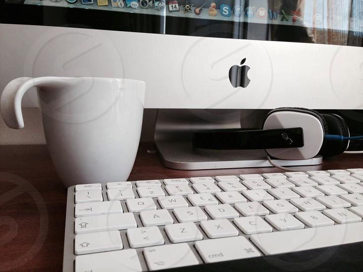 white ceramic mug photo