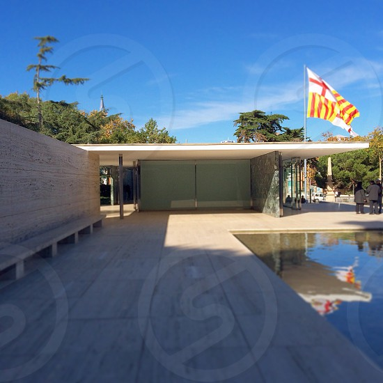 Barcelona Pavilion Spain  photo