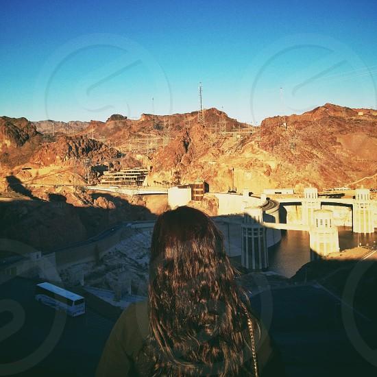white water dam photo