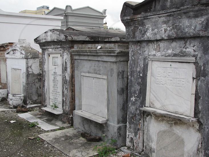 St. Louis No. 1 Cemetery; New Orleans Louisiana photo