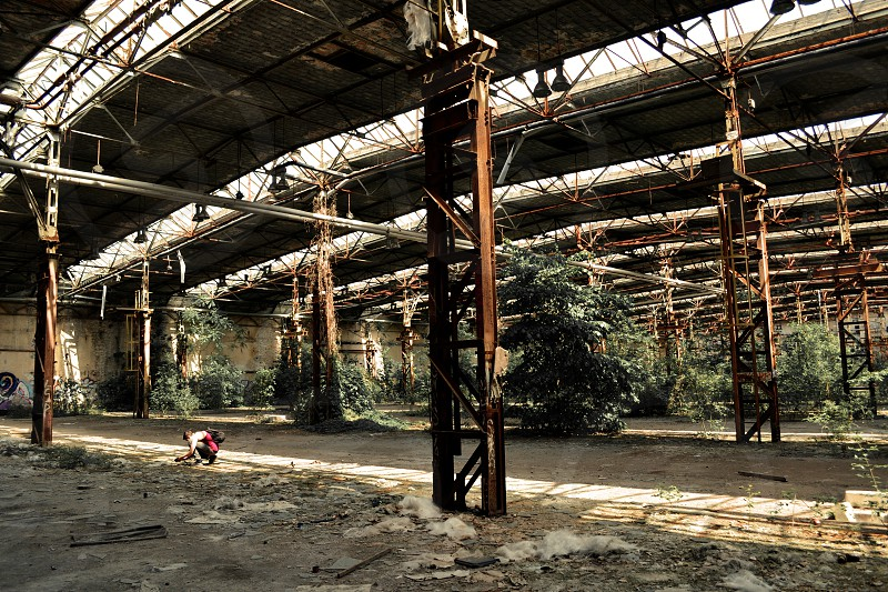 Abandoned Rope Factory Berlin photo
