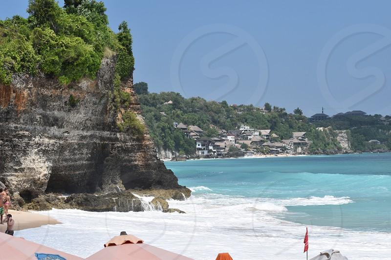 Dreamland Beach in Bali Indonesia photo