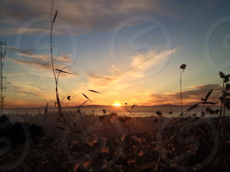 Sunrise at twinpeak  photo