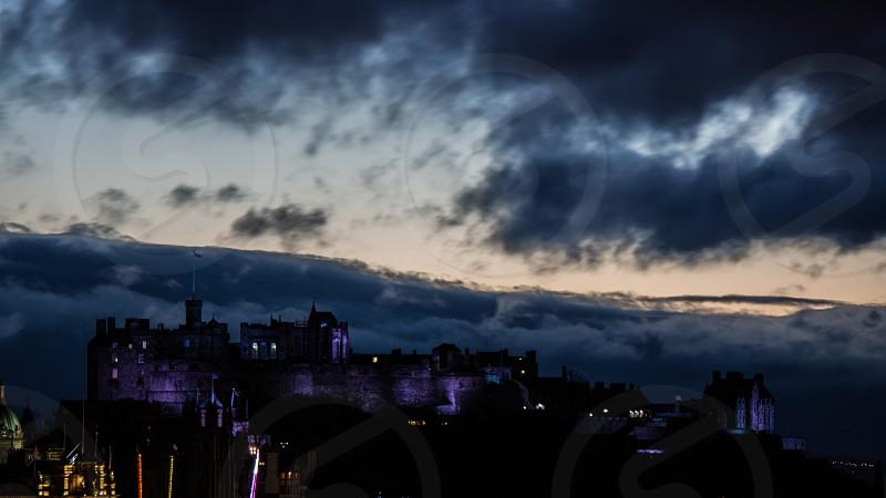 Edinburgh castle   photo