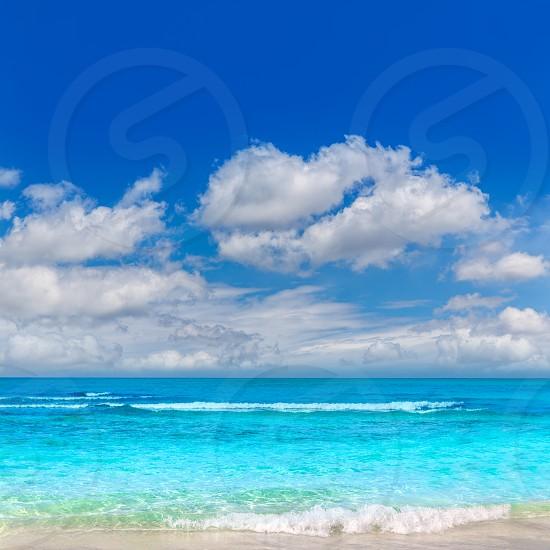 Majorca Es Trenc ses Arenes beach in Campos Balearic islands of Mallorca Spain photo