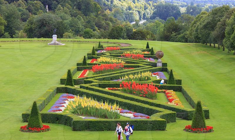 Amazing landscaped garden photo
