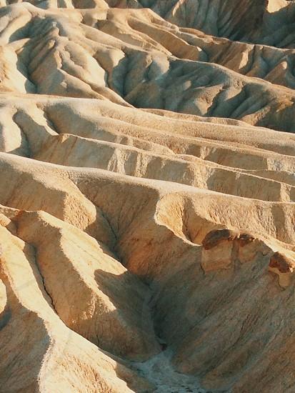 Death Valley zabrieski point yellow photo
