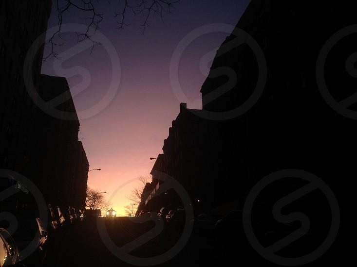 Washington Heights NYC morning. photo