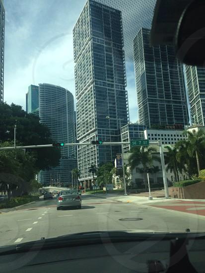 Miami brickell ave photo