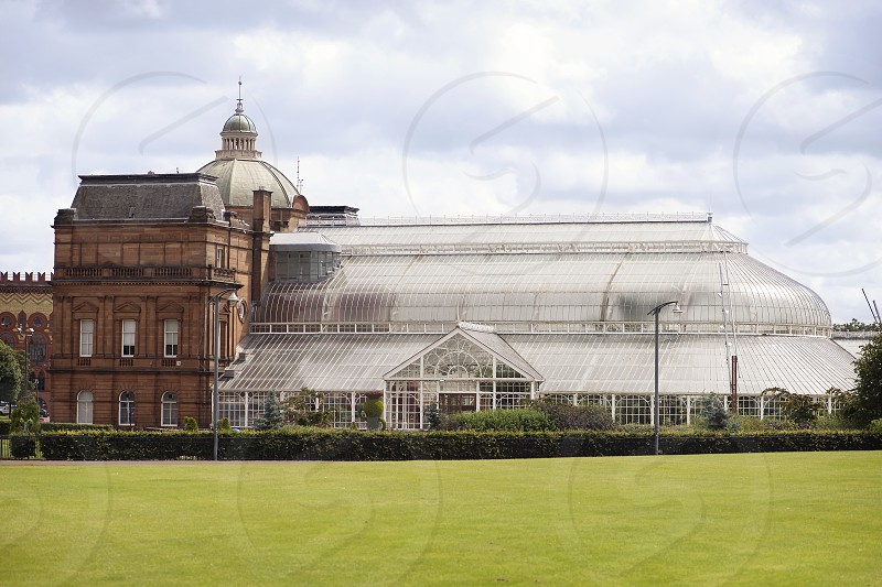 The People's Palace at Glasgow Green in Scotland. photo
