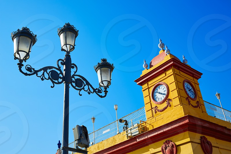 Puente Isabel II bridge in Triana Seville of Andalusia Spain photo