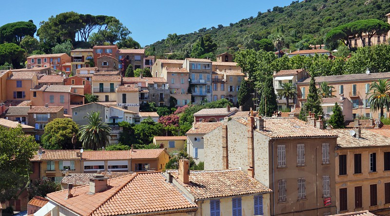 Bormes-les-Mimosas in Var French Riviera photo