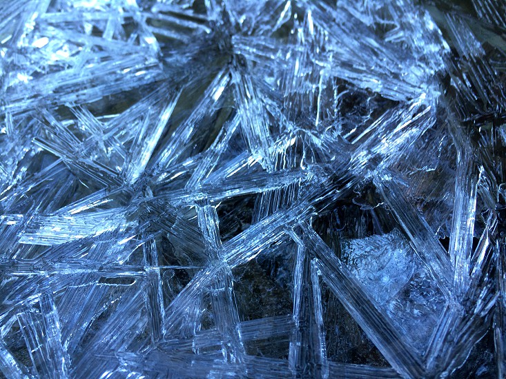 clear icicles photo