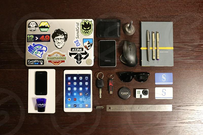 A designer's life.  photo