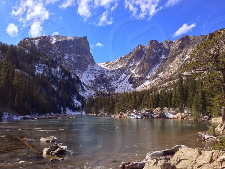 Rocky Mountain National Park Colorado Lake photo