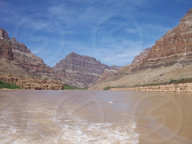 Colorado River at the Grand Canyon photo