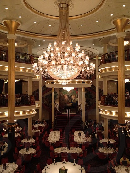 fine dining upon Royal Caribbean... photo