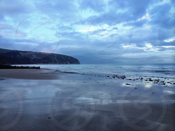 Knoll Beach Dorset UK. photo