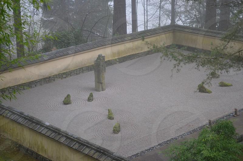 Japanese Garden Portland Oregon photo