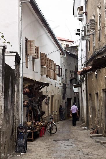 zanzibar city streets city street old photo